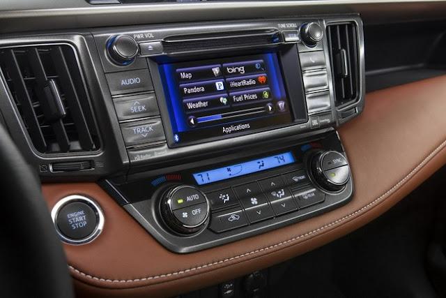 Nội thất Toyota RAV4 2013