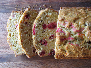 January new+229a Cranberry Orange and Carrot Bread