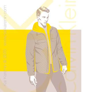 Clark Bockelman by Kai Karenin, vector illustration