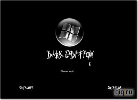 Windows XP Dark Edition V.7 Rebirth Power Pack Version 2