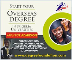 Start Your Overseas Degree In Nig.