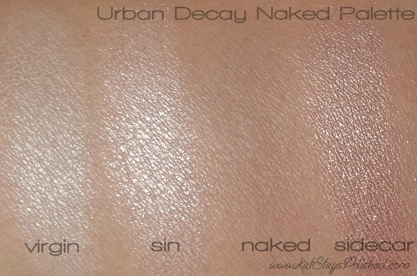 how to use urban decay sin afterglow palette