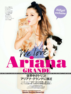 Ariana Grande HQ Pictures Elle Girl Japan Magazine Photoshoot June 2014