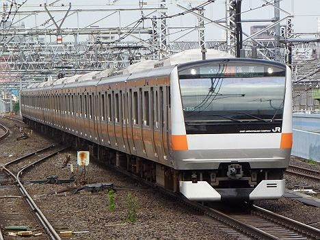 中央線 快速 高尾行き E233系