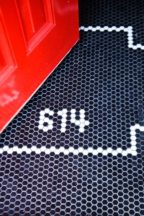 Beautiful tile that makes an impact. Avenue Laurel.