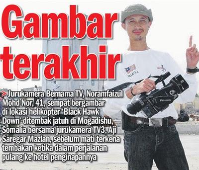 Noramfaizul Mohd Nor wartawan jurukamera bernama