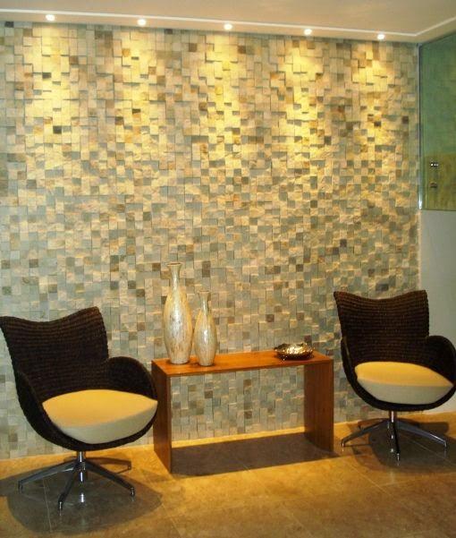 decorar lavabo antigo:15 Paredes revestidas com pedras para inspirar você! – Jeito de Casa