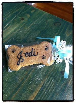 Personalized dog treat