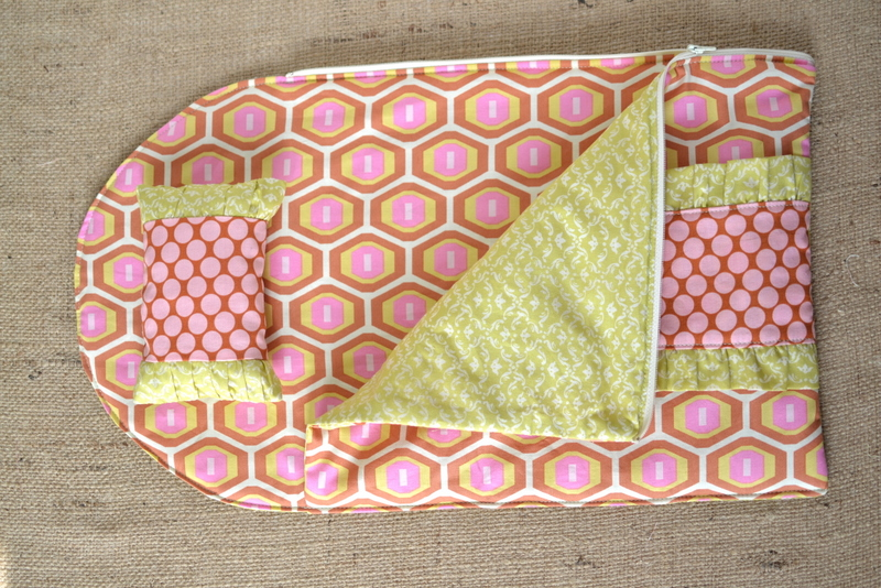 Blue Susan makes: Dolly Sleeping Bag and a little Tutorial ...