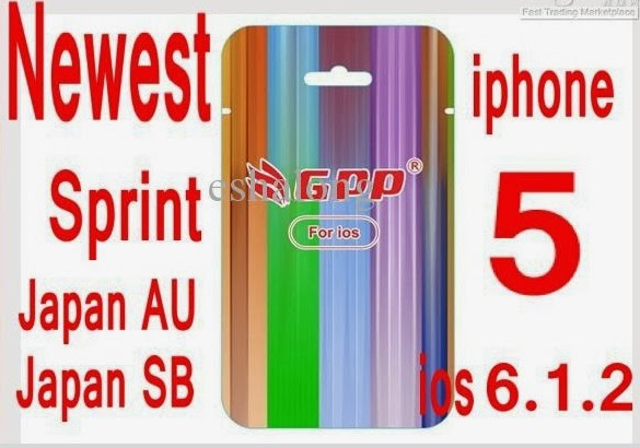 Fast And Easy Gpp Unlock Read Instructions For Iphone 5 Ios 6xx
