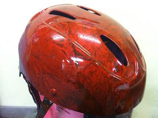 448050126 - 自転車用ヘルメット 2 ラップペイント&キャンディカラー