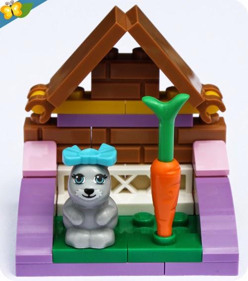 LEGO® Friends Animaux - Série 2 - Le lapin et son clapier
