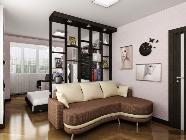 15 cool room divider ideas for all bedroom interior styles for Photos chambre a coucher