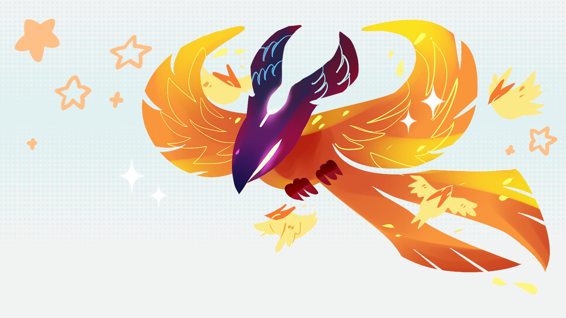 Dota 2 Phoenix 0d HD Wallpaper