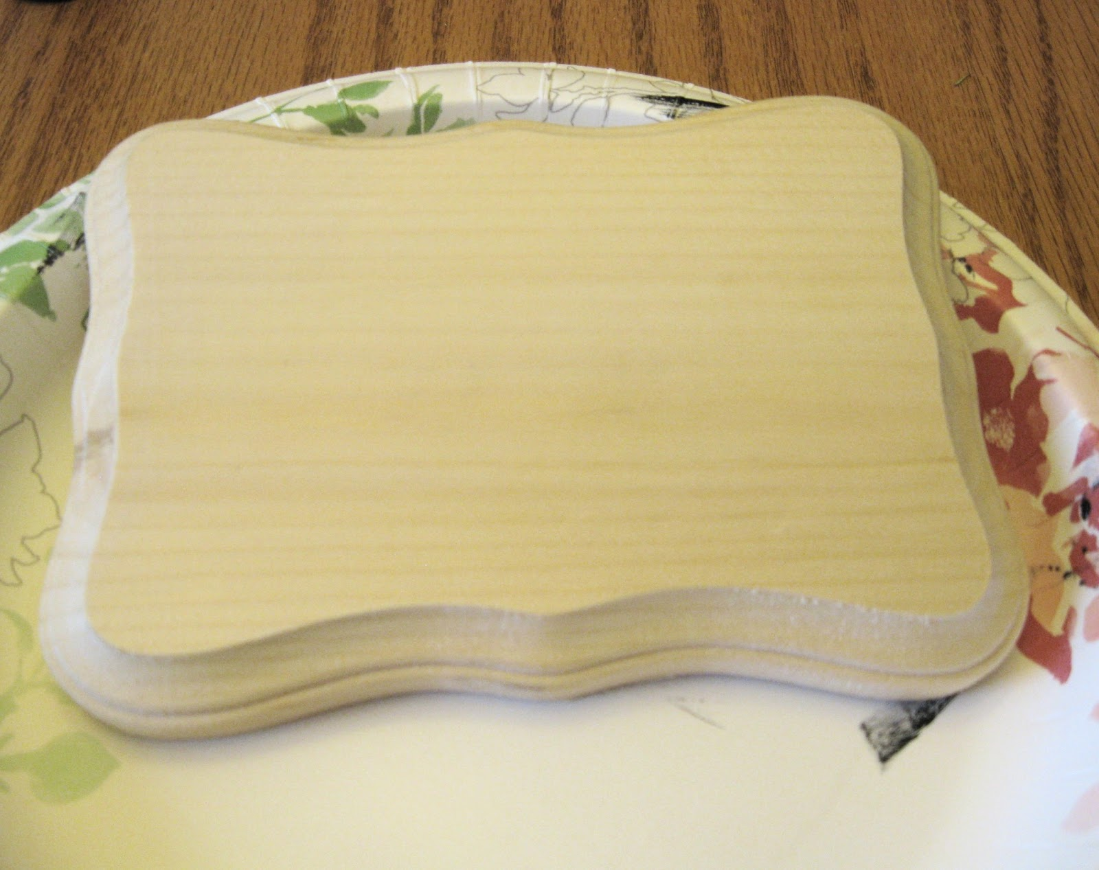 Sarah jane 39 s craft blog wooden photo plaques for Wood plaques for crafts