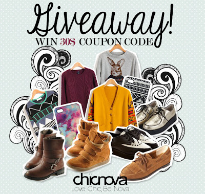 Win a $30 shopping spree on Chicnova