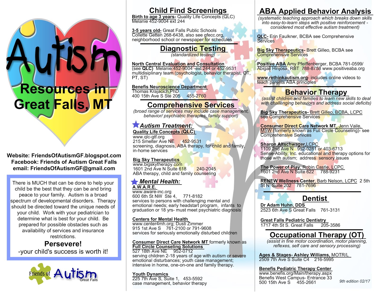 Autism Resource page1