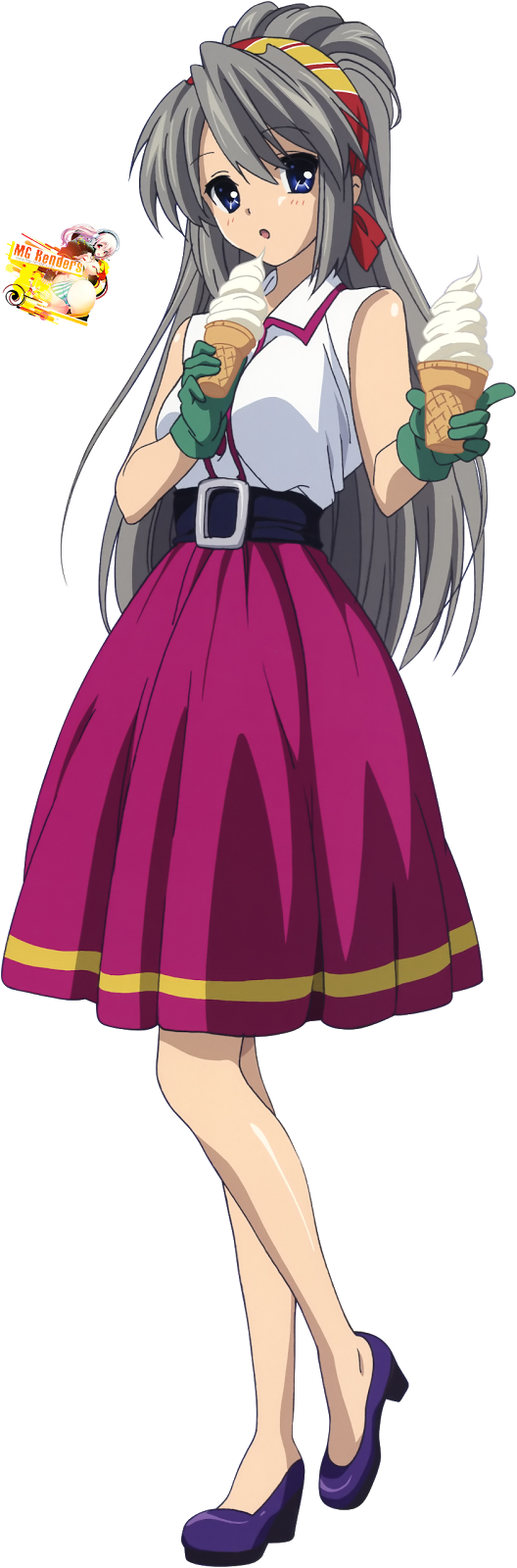 Tags: Anime, Render,  Clannad,  Sakagami Tomoyo, PNG, Image, Picture