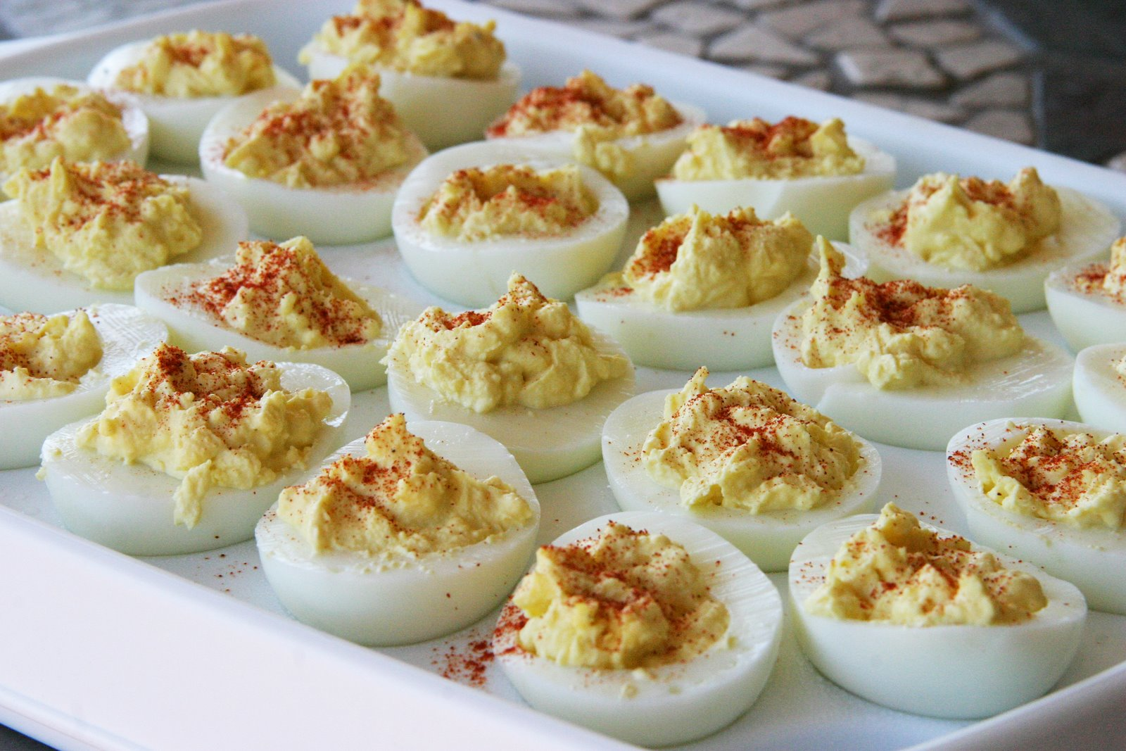 Happy Deviled Eggs Day!  Southern Belle Simple