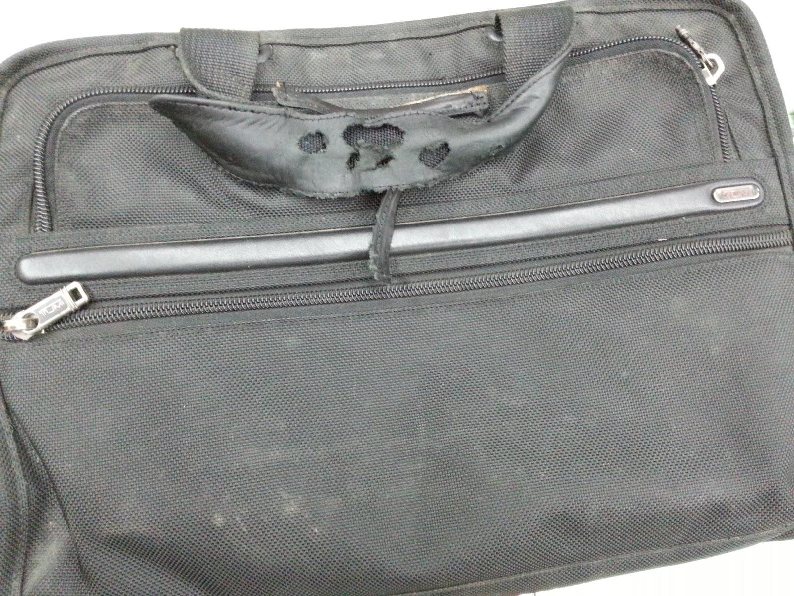 luxury bag repair and restoration service document bags With samsonite document bag