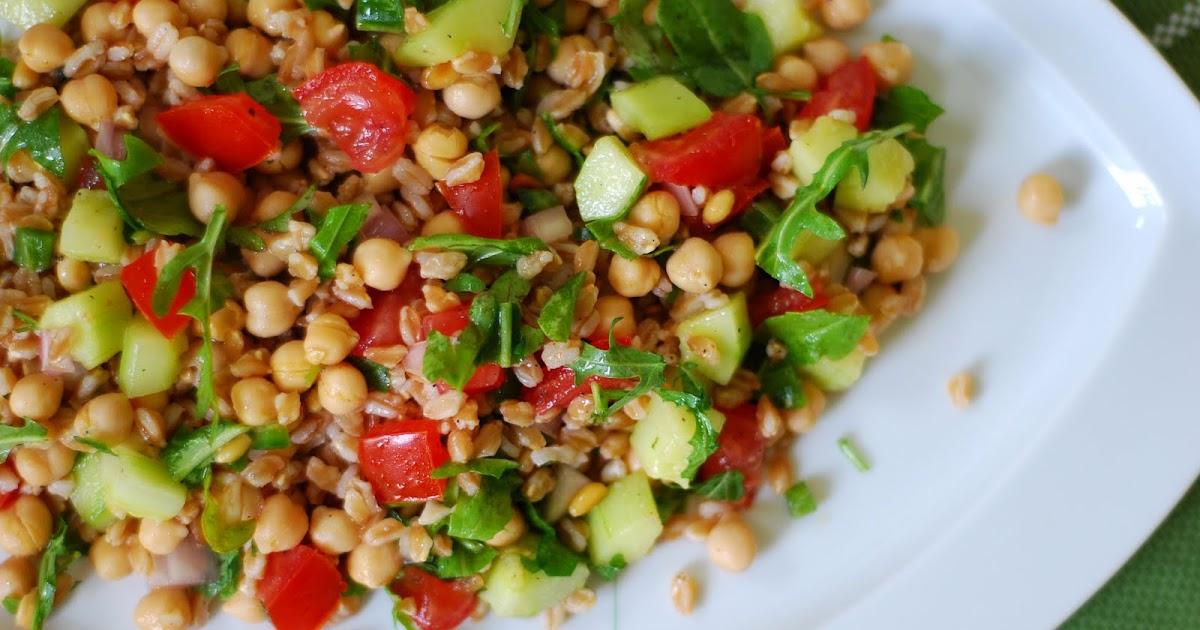 Le granola pic salade de farro aux l gumes d 39 t - Peut on donner du riz cuit aux oiseaux ...