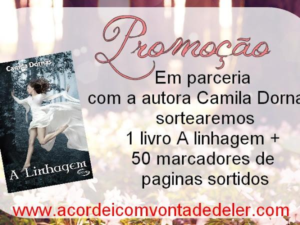 Resultado - Promoção Nacional - Livro A linhagem  - Camila Dornas + 50 marcadores sortidos