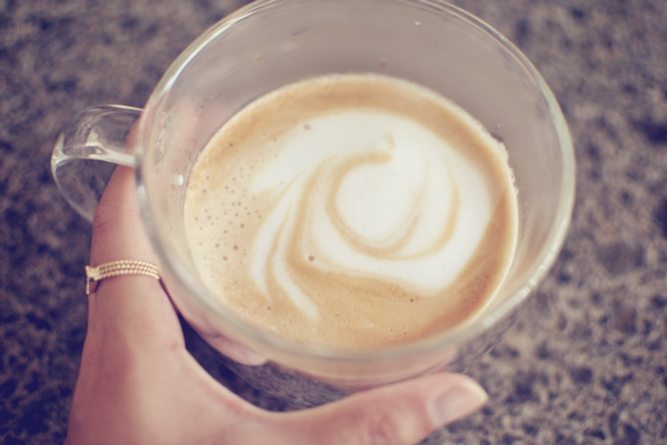vanilla latte mornings