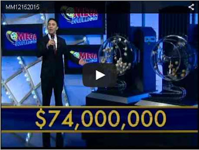 Mega Millions Lottery draw results