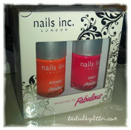Nails Inc & Fabulous.