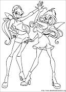 Desenhos da Winx para Colorir ~ Desenhos para Colorir (desenhos da winx para colorir )