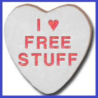 Websites where you can get free stuff