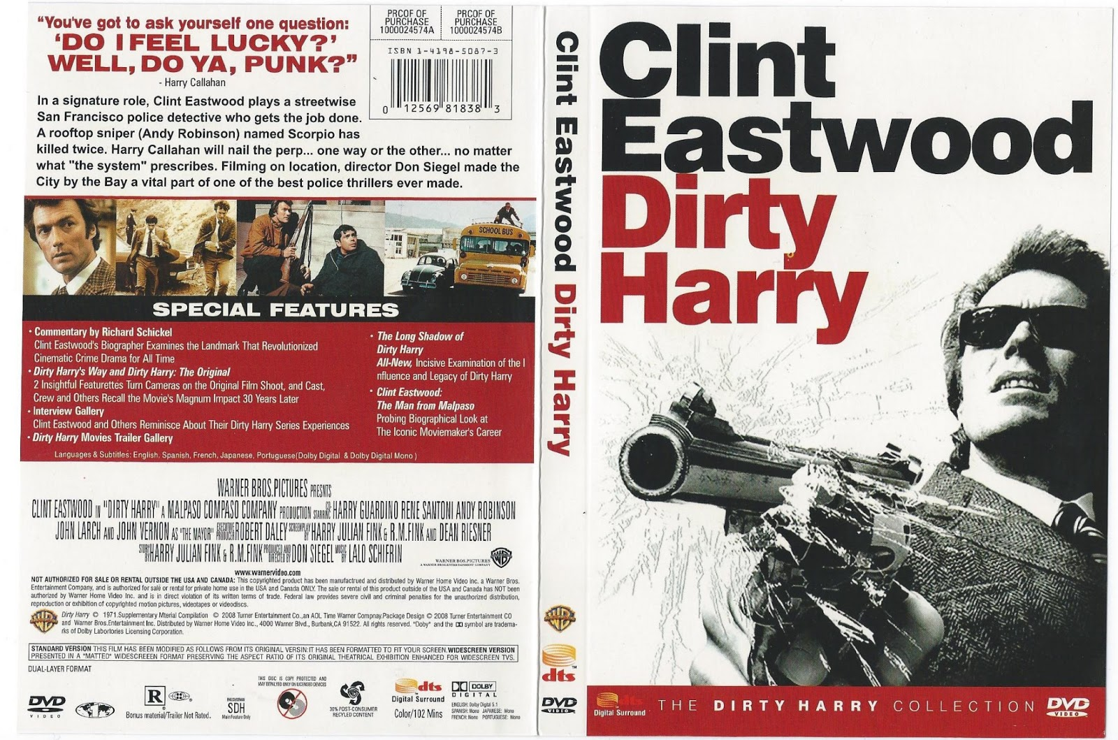 dirty harry movies