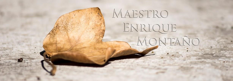 Maestro Enrique Montaño