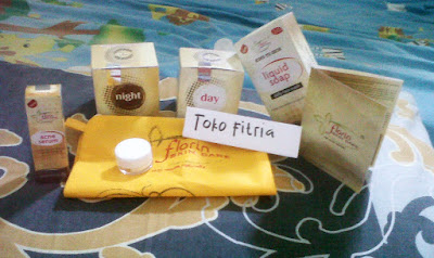 Florin paket acne serum Toko Fitria Untuk menghilangkan flek hitam, menghilangkan jerawat dan memutihkan kulit