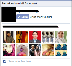 Widget page like lama di facebook