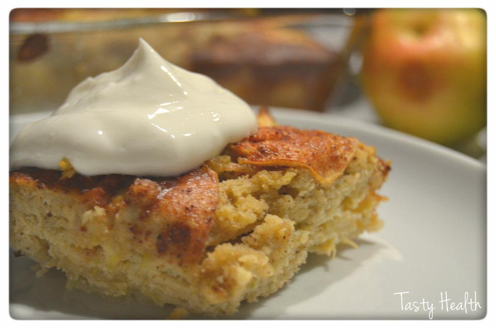 äppelkaka i ugnsform