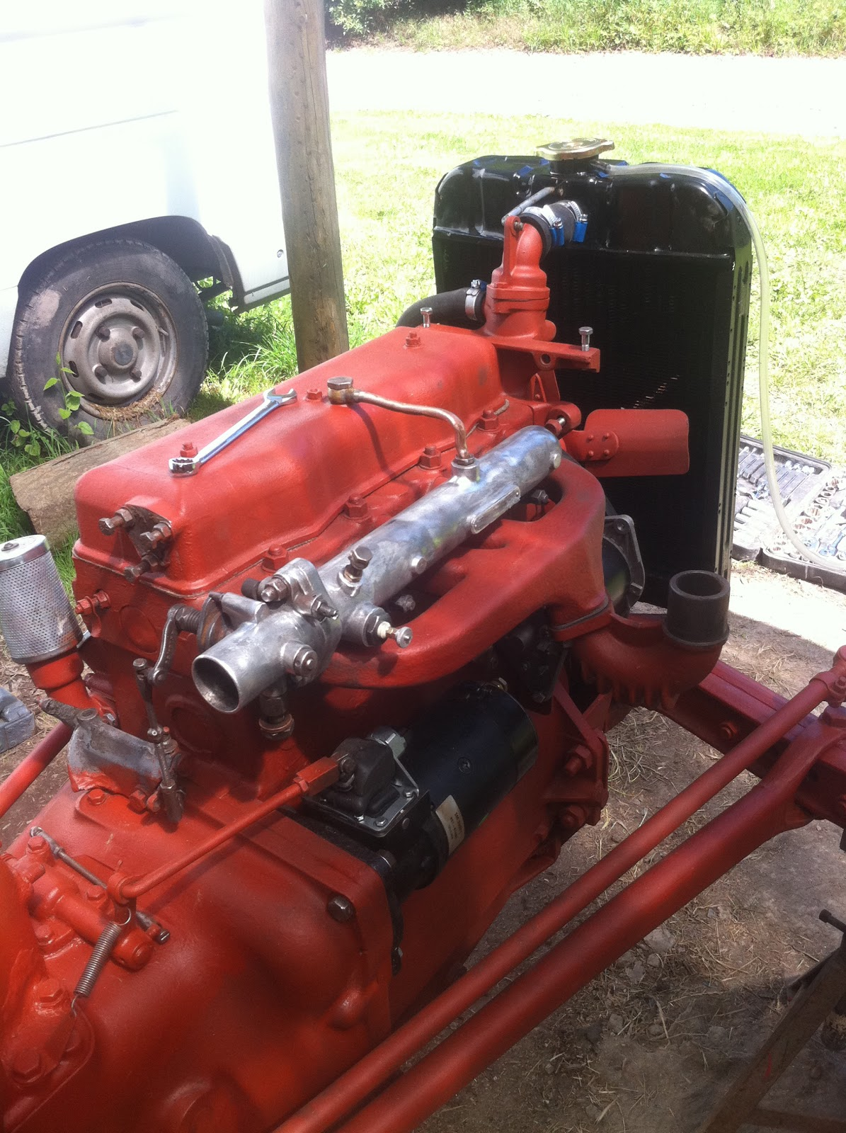 Ferguson Tef 20 tractor engine breather filter