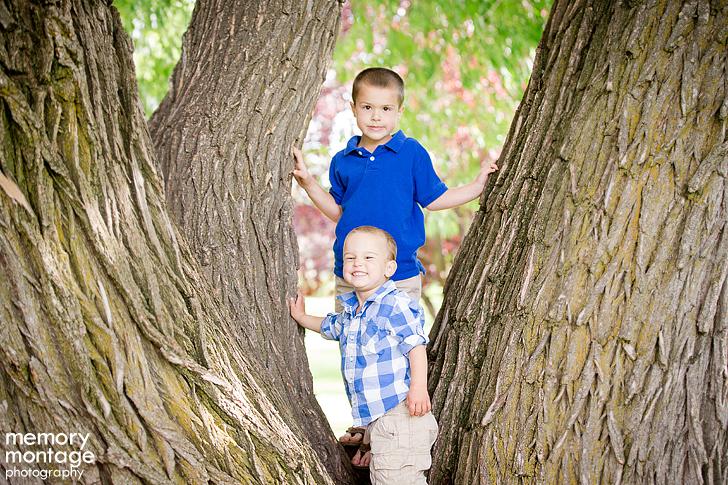 Yakima Arboretum Family Photos by Memory Montage