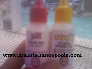 cara test PH dan chlorine air kolam renang