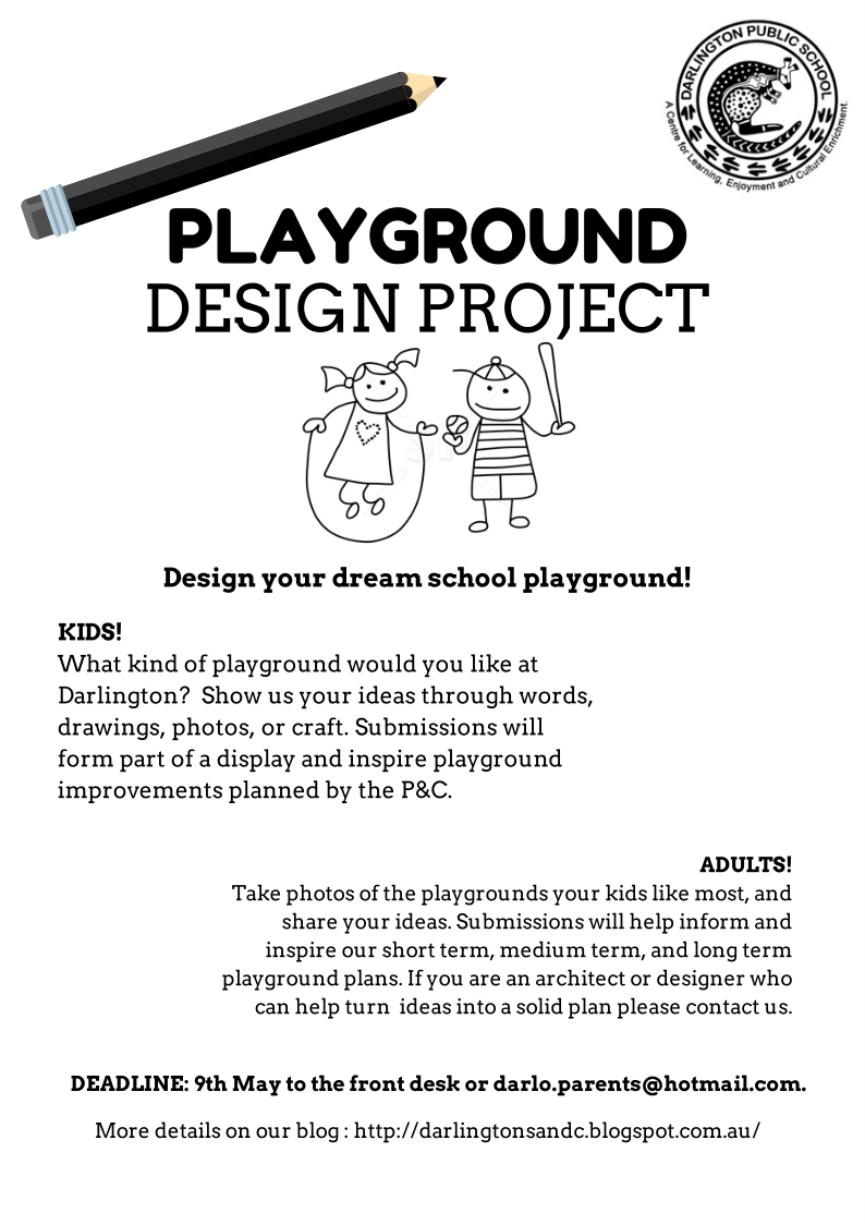 Darlington Parents Community Association Playground Design Project