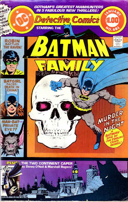Detective Comics v1 #481 dc comic book cover art by Jim Starlin