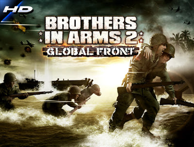 Brothers In Arms 2: Global Front HD v1.0.1 Apk + OBB - SD Data