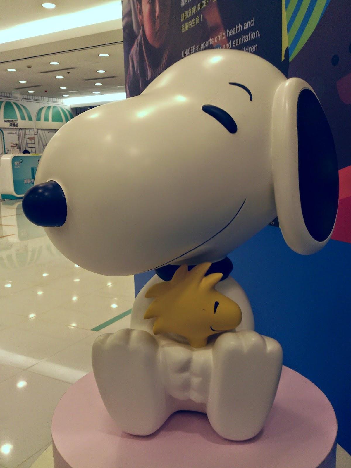 Snoopy - ocean terminal Hong Kong