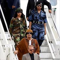 guardaespaldas femeninos de Gaddafi