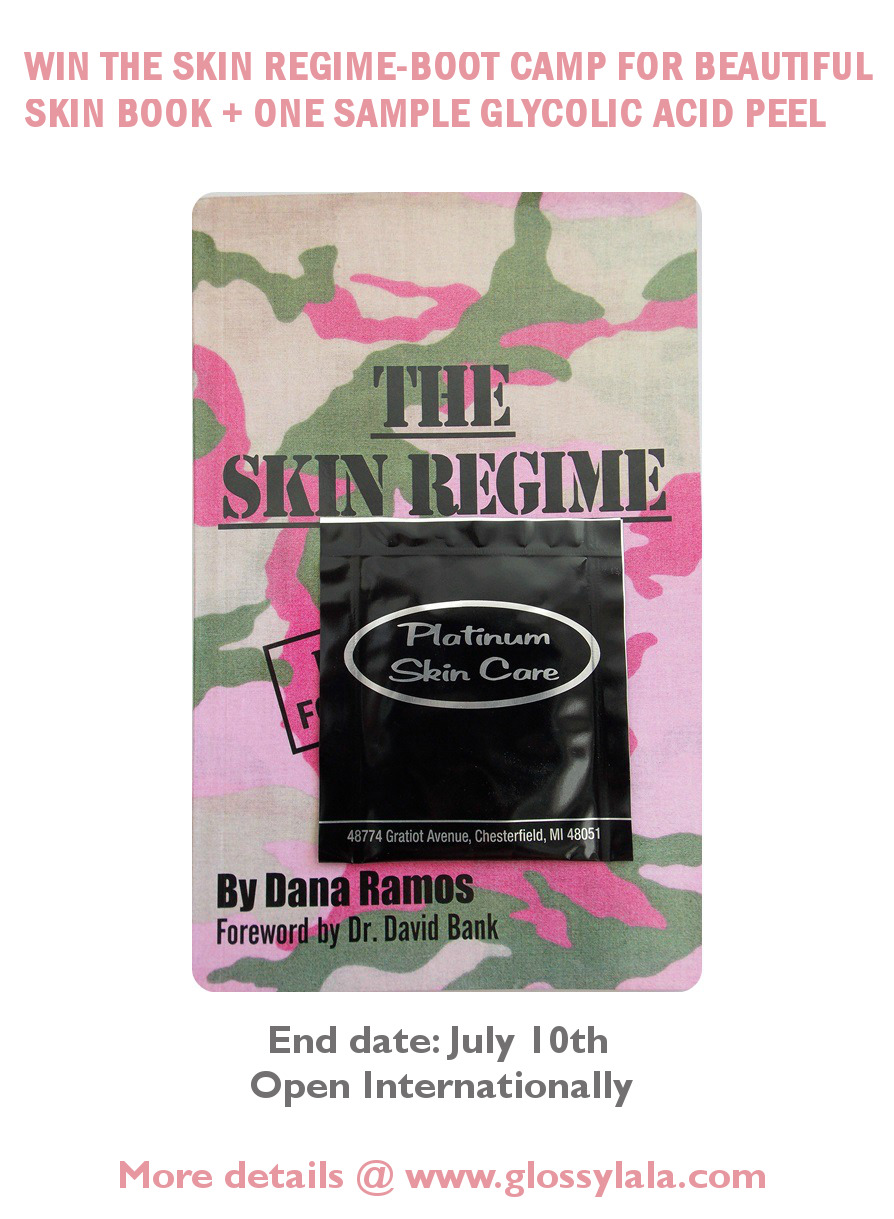 The Skin Regime By Dana Ramos Giveaway Open