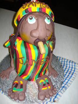 Rastaman Cake