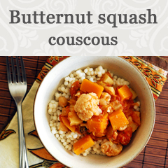 Butternut squash coucous