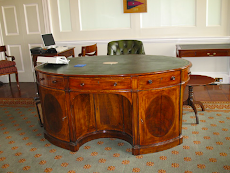 WELLINGTON'S DESK AT HORSE GUARDS
