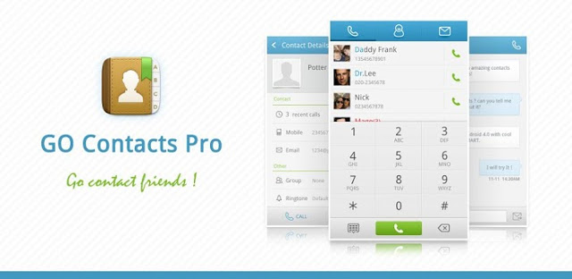 GO Contacts Pro v1.0 build 202 APK