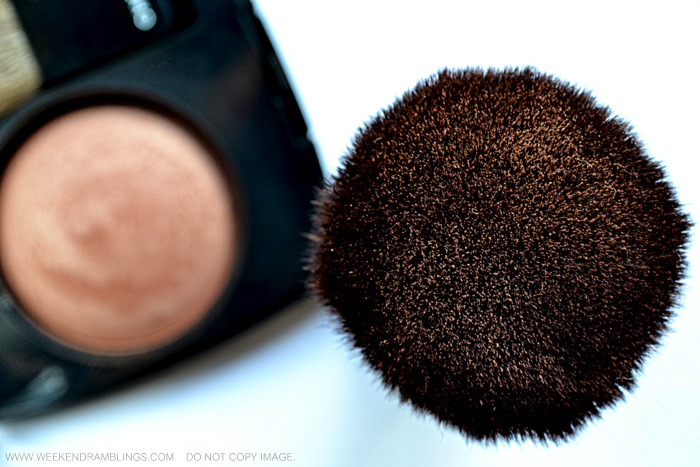 TBS The Body Shop Bronzing Bronzer Makeup Brush Synthetic Cruelty-Free Indian Beauty Makeup Blog Reviews